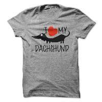I love my Dachshund