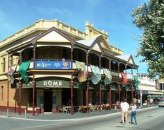 """The """"Dome"""" on the """"Capuccino Strip"""" in Fremantle, WA"""