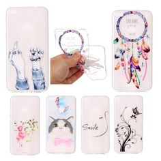 Cute Flower Flamingo Case For Huawei p8 lite 2017 Soft TPU Colours Cat Back Cover Transparent Slim Skin Phone Cases  B3