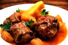 Oxtail Stew (Southern Africa)  #africanfood
