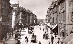 Königstr.und Königstor um1885