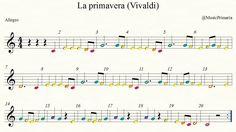 La Primavera (Allegro) - Tubos sonoros