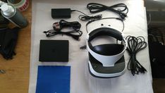 Sony Playstation VR Headset & Camera Bundle For PS4 - Mint Condition - CUH-ZVR2 Vr Headset, Ps4 Games, Virtual Reality, Playstation, Sony, Conditioner, Amp, Model