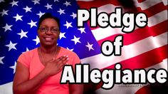 "Join Ms. Tracey as she recites the ""Pledge of Allegiance."" This is a great way to memorize the pledge. It was written in 1892 by Francis Bellamy. This video ..."