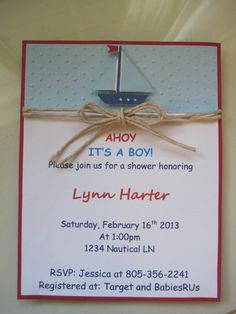 naticlal baby shower invitations - Google Search