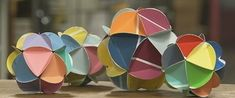 How To: Make Paint Chip Orbs » Curbly | DIY Design Community