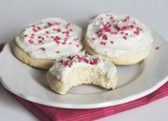 Mock fluffy sugar cookies, like the ones found in the grocery store!