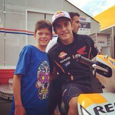 Marc Marquez - Pilota motociclistico, campione della Moto GP nel 2013