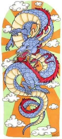 Dragon Sleeve 2 by The-Blackwolf on DeviantArt