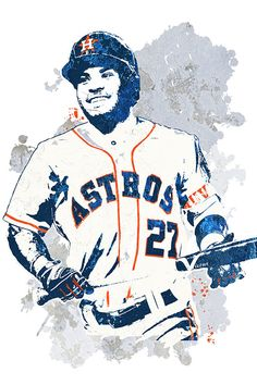 Sport Poster Colour 29 Ideas For 2019 Best Sports Quotes, Astros World Series, Baseball Art, Unique Poster, Sports Art, Houston Astros, Poster Colour, Indoor, Astros Logo