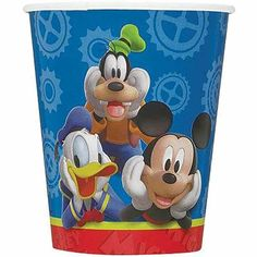 Throw an extra special Mickey Mouse birthday party! Each package contains eight…
