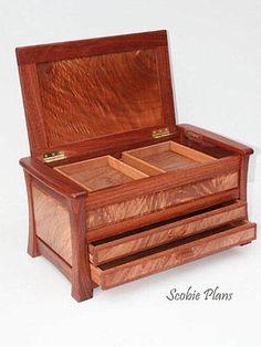 DIY - Woodworking Plans -  SCOBIE PLANS  - Document Box