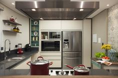 Cozinha (De Arquitetura 8 - Ana Spagnuolo & Marcos Ribeiro)