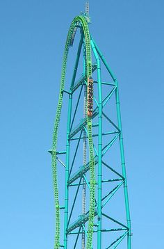 Kingda Ka Roller Coaster at Six Flags, have to go here!