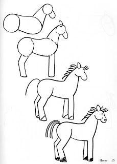 How to draw cartoon farm animals drawing farm animals how to draw farm directed drawing farm . how to draw cartoon farm animals Art Drawings For Kids, Horse Drawings, Drawing For Kids, Easy Drawings, Animal Drawings, Simple Horse Drawing, Doodle Drawings, Drawing Lessons, Drawing Techniques