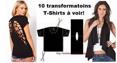10 incroyables transformations de T-Shirt!