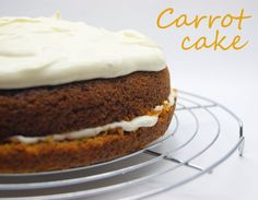 Carrot Cake Carrot Cake, Carrots, Cheesecake, Desserts, Drink Recipes, Gastronomia, Food Recipes, Sweet Treats, Cooking