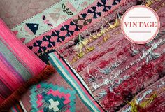 Ah, Spring! Vibrant rugs, pillows and textiles from One Kings Lane