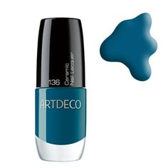 ARTDECO Ceramic Nail Lacquer 136 Peacock Coquette at BeautyBay.com
