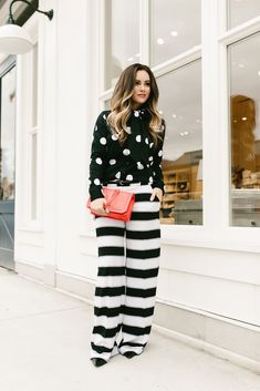Polka Dots & Stripes // Early Spring Trends // KBStyled.com