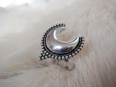 Crescent Moon Ring Half Moon Ring Moon Jewelry Phases Ring Moon Phase Ring Crescent Moon Ring Crescent Moon Jewelry Stackable Rings silver by ShopSparrow on Etsy https://www.etsy.com/listing/246619975/crescent-moon-ring-half-moon-ring-moon