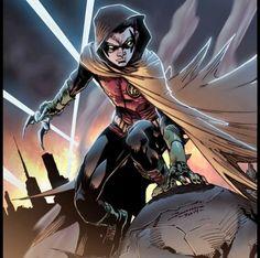 Damian Wayne A.K.A Robin By Brett Booth