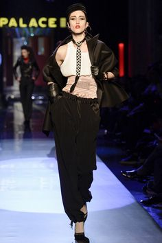Jean Paul Gaultier Spring 2016 Couture Fashion Show. I'm loving the attitude.