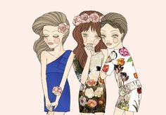 Whimsical World of Laura Bird: Friederich Herman - Fashion Illustrator