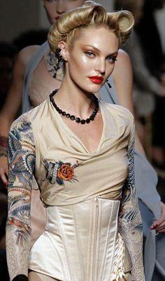 #corset #peinado #moda #diseño