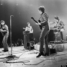 The Beatles at the Washington Coliseum, 1964