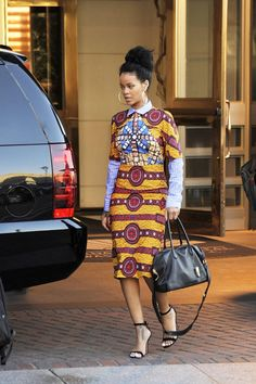 This is what Rihanna wears when she visits the White House.