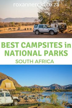 Do you like to camp wild? Discover 5 favourite campsites in South African national parks. Pin this to your board for when you make your next booking for a camping holiday Best Places To Camp, Camping Places, National Parks Map, Kruger National Park, Wild Campen, Camping Holiday, Wildlife Safari, Africa Travel, Campsite