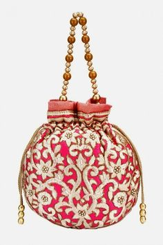 Batua purse design in brocade