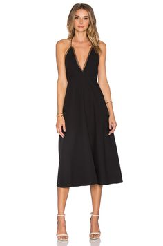 VIVIAN CHAN Magda Dress in Black