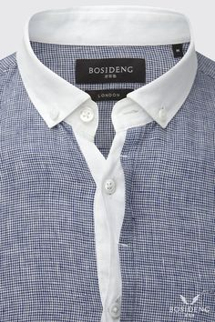Men's casual shirt bosidenglondon.com #menswear #menstyle #mensfashion #shirt