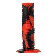 Domino Soft Hand Snake Grips - Red Black