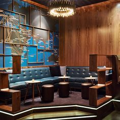 Now Boarding - an aviation-themed bar in West Hollywood, LA