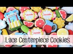 How to Make a Lace Centerpiece Cookie ~ LilaLoa