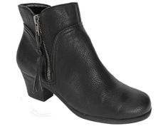 Aerosoles Women's Acrobatic Ankle Booties Black Size 8 Wide #Aerosoles #AnkleBoots #Casual