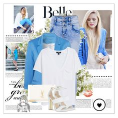 Belle by jeehy on Polyvore featuring moda, MANGO, Carvela, Yves Saint Laurent and New Growth Designs