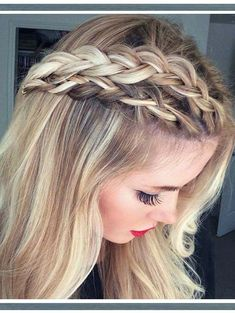 33 Easy Braid Hairstyles to Wear in 2018. Although east braids can be some difficult to fine but it not impossible. You can see below we have made a collection of beautiful and easy braids that you can proudly wear on your wedding day. These are best every wedding hairstyles for all the women who like to sport timeless but attractive hairstyles on wedding day.