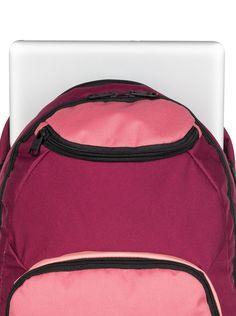 roxy, , Red Plum - Solid (rrc0) Roxy Backpacks, Red Plum, Under Armour, Bags, Fashion, Handbags, Moda, Dime Bags, Fasion