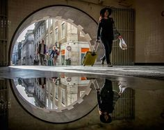 Puddle relection by Daniel Antunes - Artpeople.nert