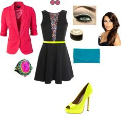 """""""Fun Night Out"""" by bbrink685 on Polyvore"""