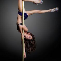 Pole dance brass monkey