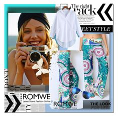 """""""Romwe.com II"""" by nerabirparic ❤ liked on Polyvore featuring romwe"""