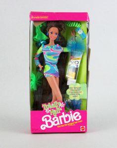 tropical barbie 1985 google sgning