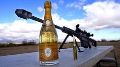.50 cal. vs šampaňské | Mrkni.se