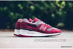 http://www.jordannew.com/new-balance-997-women-red-lastest.html NEW BALANCE 997 WOMEN RED LASTEST Only $62.00 , Free Shipping!