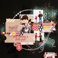 Layout shared with us by Beck Beattie using our Say Cheese collection